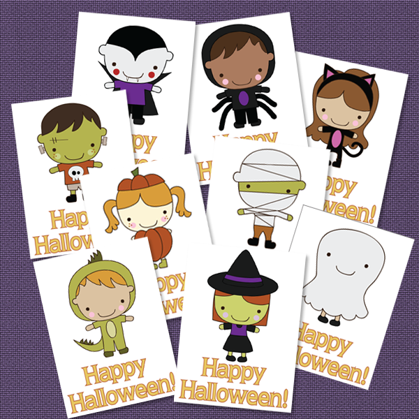 photo about Happy Halloween Cards Printable referred to as Delighted Halloween Playing cards for Youngsters