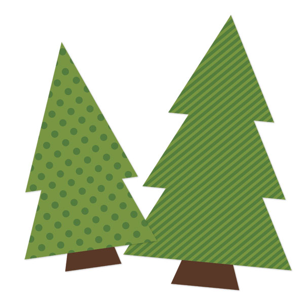 ... 3D Christmas Trees are so easy. All you need is a color printer