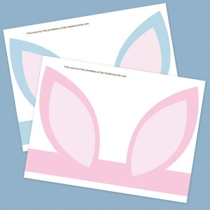 Printable Easter Bunny Ears