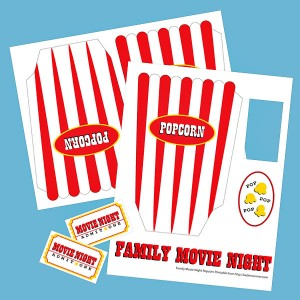 Family Movie Night Popcorn