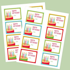 Free Printable Happy Birthday Tags