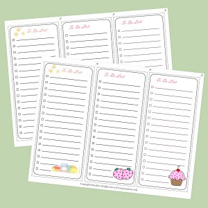 Free Printable To Do Lists