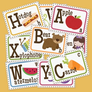 image regarding Printable Alphabet Flash Cards referred to as Printable ABC Flash Playing cards