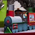 Printable Paper Christmas Train