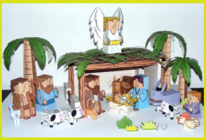 Nativity Paper Craft