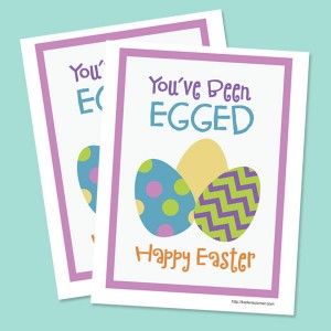 picture regarding You've Been Egged Printable called Youve Been Egged Printable