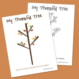 picture relating to Thankful Tree Printable titled Absolutely free Printable Grateful Tree